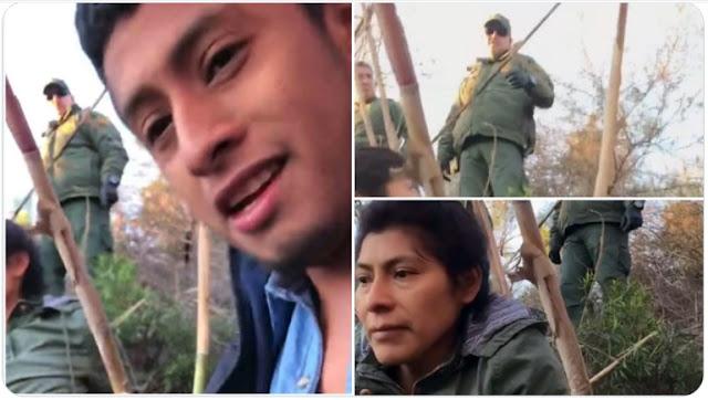 Video: Coyote pelea con la migra de la Border Patrol tras ser detenido, yo soy responsable de ellos, por eso estoy peleando con ustedes carnal, si te preocuparas por ellos los dejaras pasar