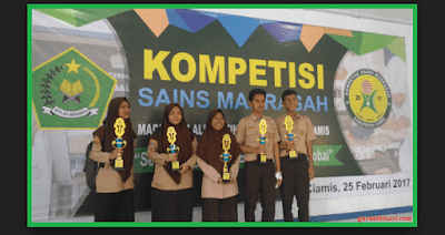 Latihan Soal KSM 2019 dan Kunci Jawaban (MTs MI MA)