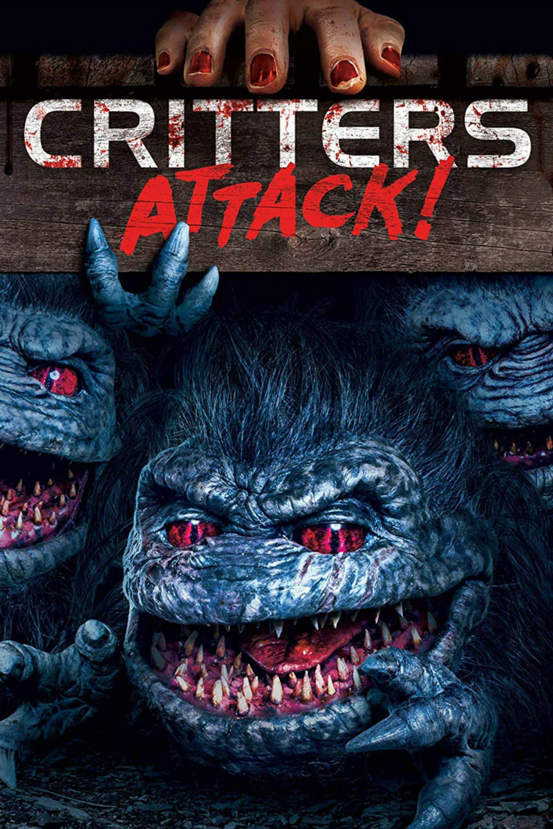 critters attack poster