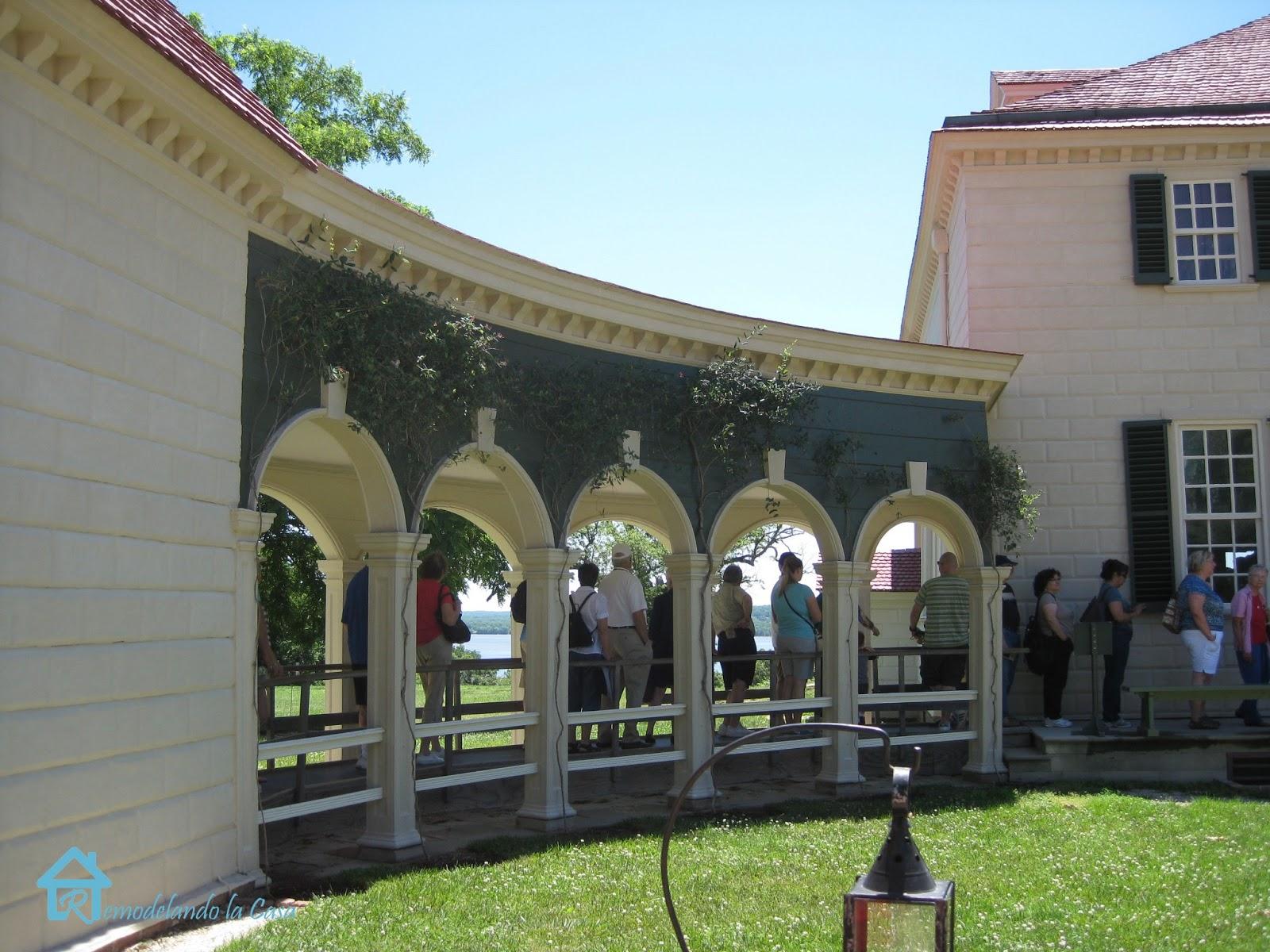Mount Vernon  1  Remodelando la Casa