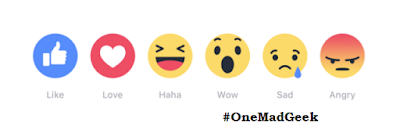 Facebook Reactions Available Globally - the new Like button