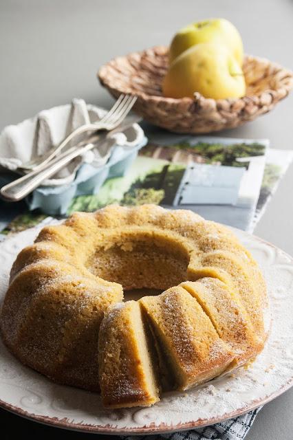 Pan di mele o torta di mele frullate