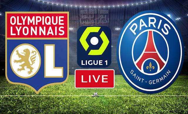 بث مباشر   مشاهدة مباراة باريس سان جيرمان ضد أولمبيك ليون في الدوري الفرنسي