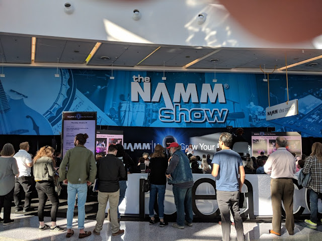 NAMM Show 2021 - Canceled!