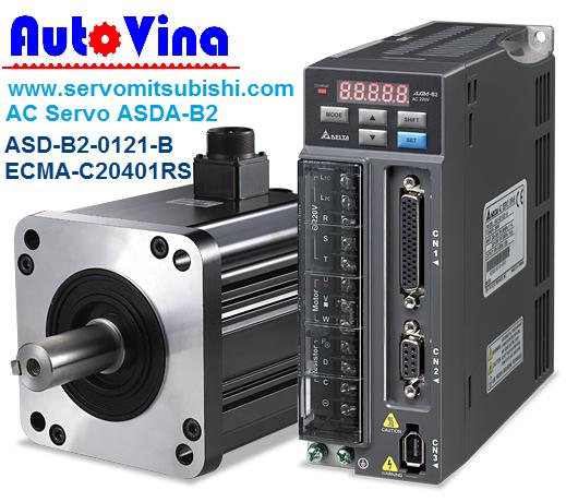Tổng đại lý bán phân phối bộ điều khiển AC Servo, Động cơ Motor Servo hãng Delta 0.1kW : ASDA-B2-0121-B , ECMA-C20401GS - ECMA-C20401RS - ECMA-C20401SS