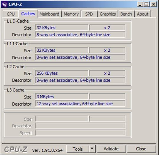 Download CPU Z - Kiểm tra CPU, cấu hình laptop miễn phí a
