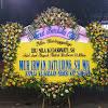 Papan Bunga Ucapan Duka Cita Kepala Kejaksaan Negeri Kep Sangihe