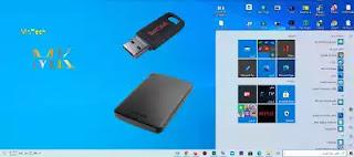 تثبيت الويندوز عل قرص صلب خارجي أو مفتاح usb وجعله نظام متنقل لإستخدامه في أي حاسوب