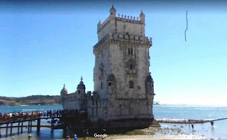 Belém Tower (Tower of St Vincent) is a fortified tower