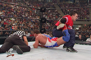 WWE / WWF - King of the Ring 2001 - Shane McMahon faced Kurt Angle in an awesome street fight