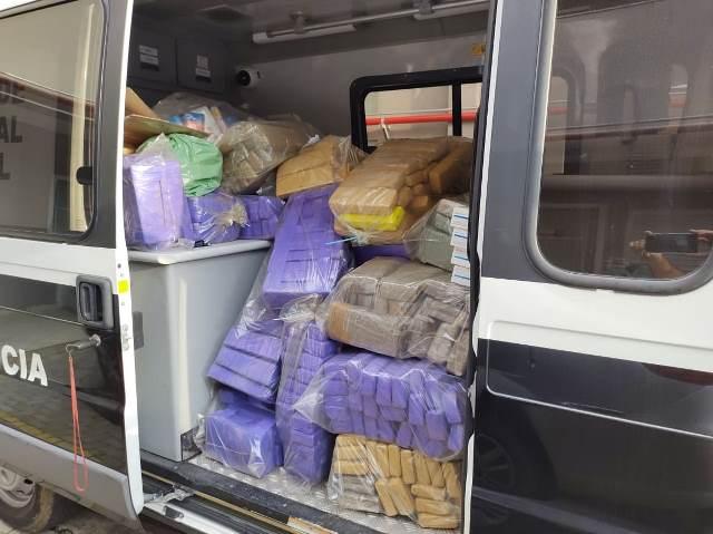 Polícia Civil realiza incineração de mais de 8 toneladas de drogas na região