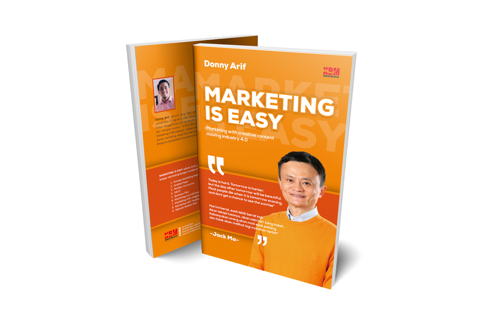 MARKETING IS EASY (Marketing With Creative Content Moving Industry 4.0)
