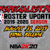 2KSPECIALIST'S NBA 2K19 FINAL ROSTER UPDATE RELEASED [8.31.19[ [FOR 2K19]