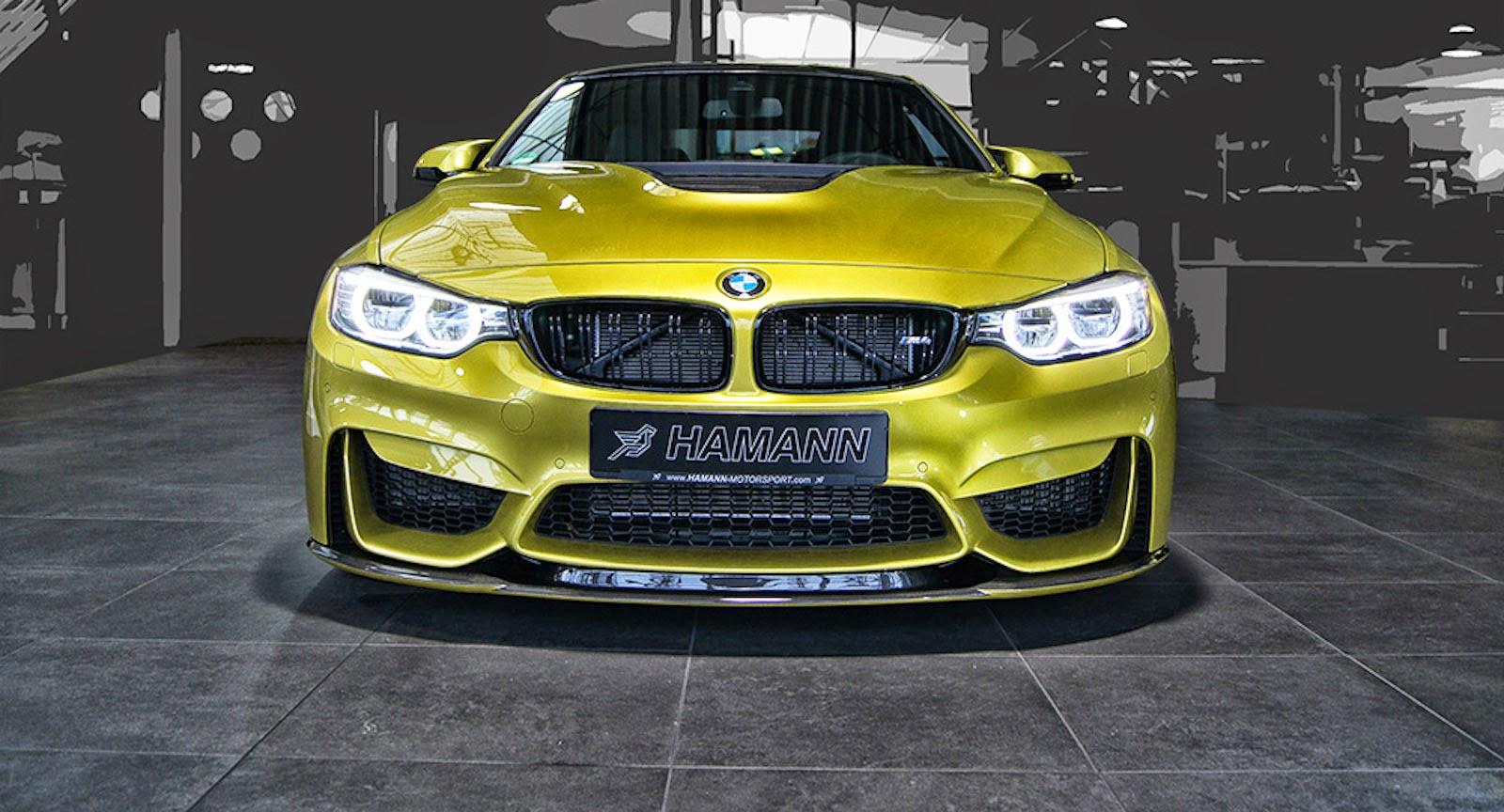 El preparado alemán Hamann ha hecho de las suyas con el BMW M4