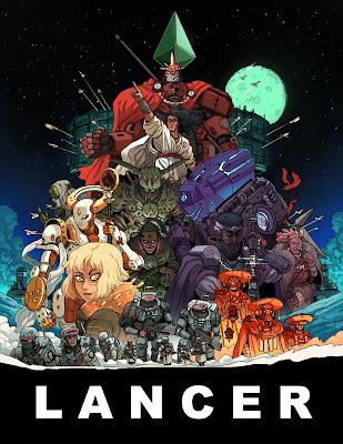 Lancer RPG, giant mecha scifi roleplaying game