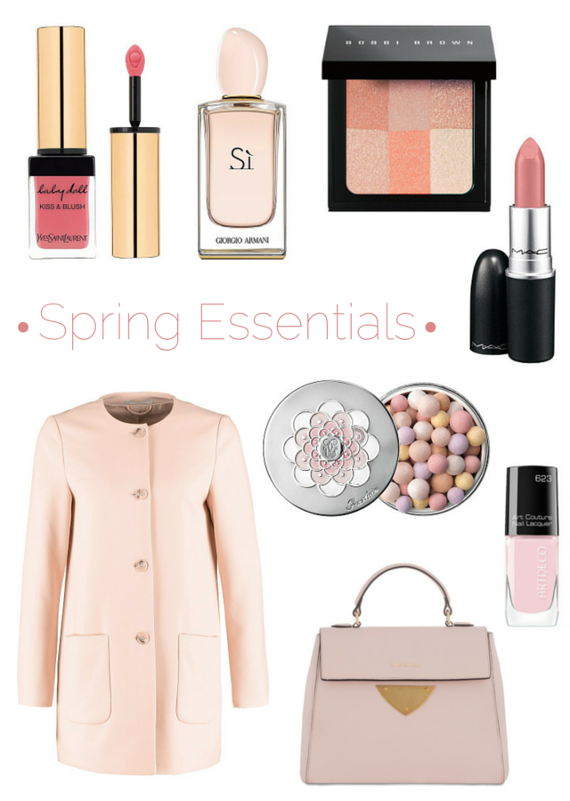 Spring Beauty and Fashion Essentials