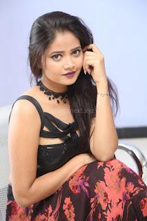 Shriya Vyas in a Tight Backless Sleeveless Crop top and Skirt 122.JPG