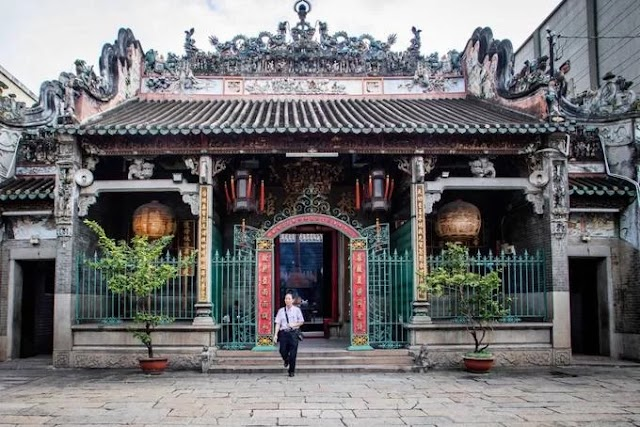 The most ancient clubhouse of Chinese people in Saigon