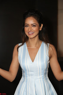 Shanvi Looks super cute in Small Mini Dress at IIFA Utsavam Awards press meet 27th March 2017 35.JPG