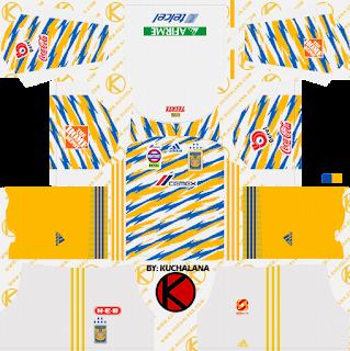 Tigres UANL 2019/2020 Kit - Dream League Soccer Kits