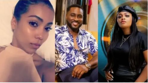 """BBNaija: """"You Said You Wanted To Eat Pere's Pr$ck"""" – Tega Reveals What Maria Says After Being Drunk On Friday Night (VIDEO)"""