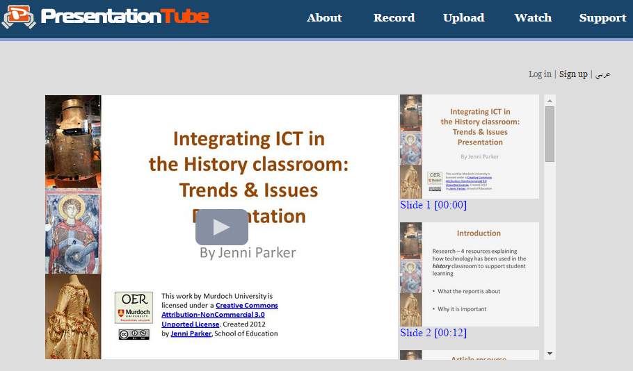 Free Technology for Teachers: Add Narration and More to Your PPT