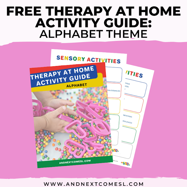 Alphabet themed activities