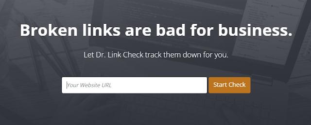 فحص Dr. Link - البحث عن الروابط المعطلة