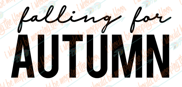 Falling for Autumn SVG