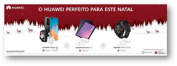 Huawei lança Campanha de Natal com ofertas imperdíveis