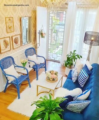 kumpulan desain ruang tamu sederhana yang cantik dan