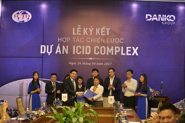 Danko Group ký kết hợp tác phân phối ICID Complex