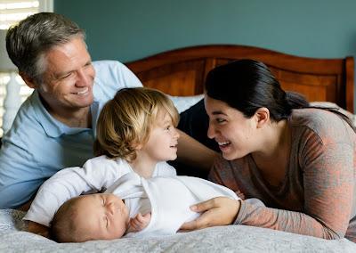 Gambar Kebersamaan anak dengan Orang tua
