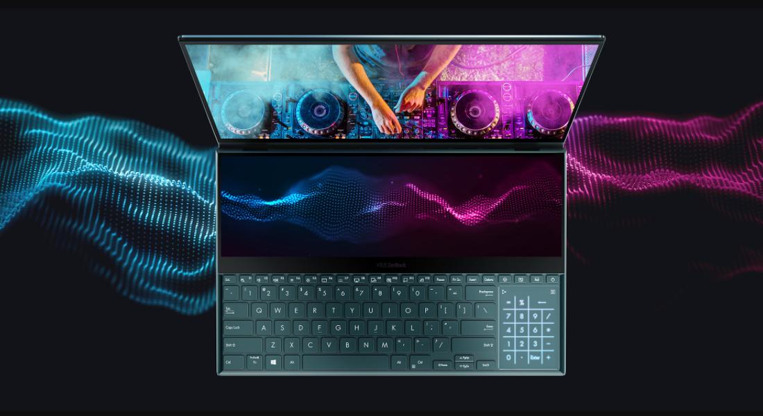 Review Asus Zenbook Pro Duo UX581