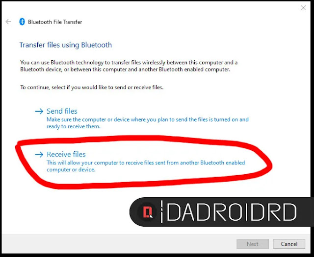 Cara kirim File dari Bluetooth Android ke Laptop Cara Transfer File via Bluetooth Android ke Windows 10