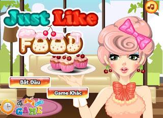 Game thời trang trái cây thú vị nhất