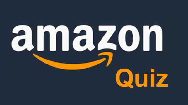 Amazon Quiz 16 March 2021
