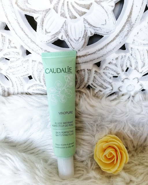contre l'acné caudalie vinopure anti-imperfection