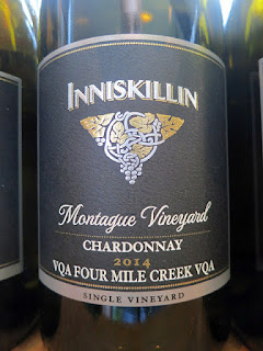Inniskillin Montague Vineyard Chardonnay 2014 (88 pts)