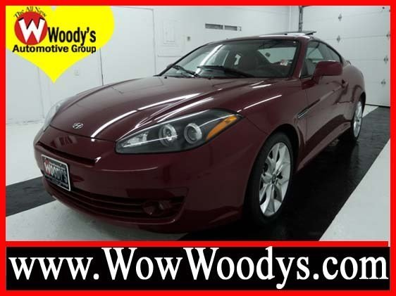 woody 39 s automotive group used 2008 hyundai tiburon for sale in the kansas city area. Black Bedroom Furniture Sets. Home Design Ideas