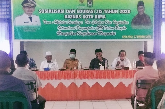 Maksimalkan Potensi Zakat, Baznas Kobi Gelar Sosialisasi dan Edukasi ZIS 2020