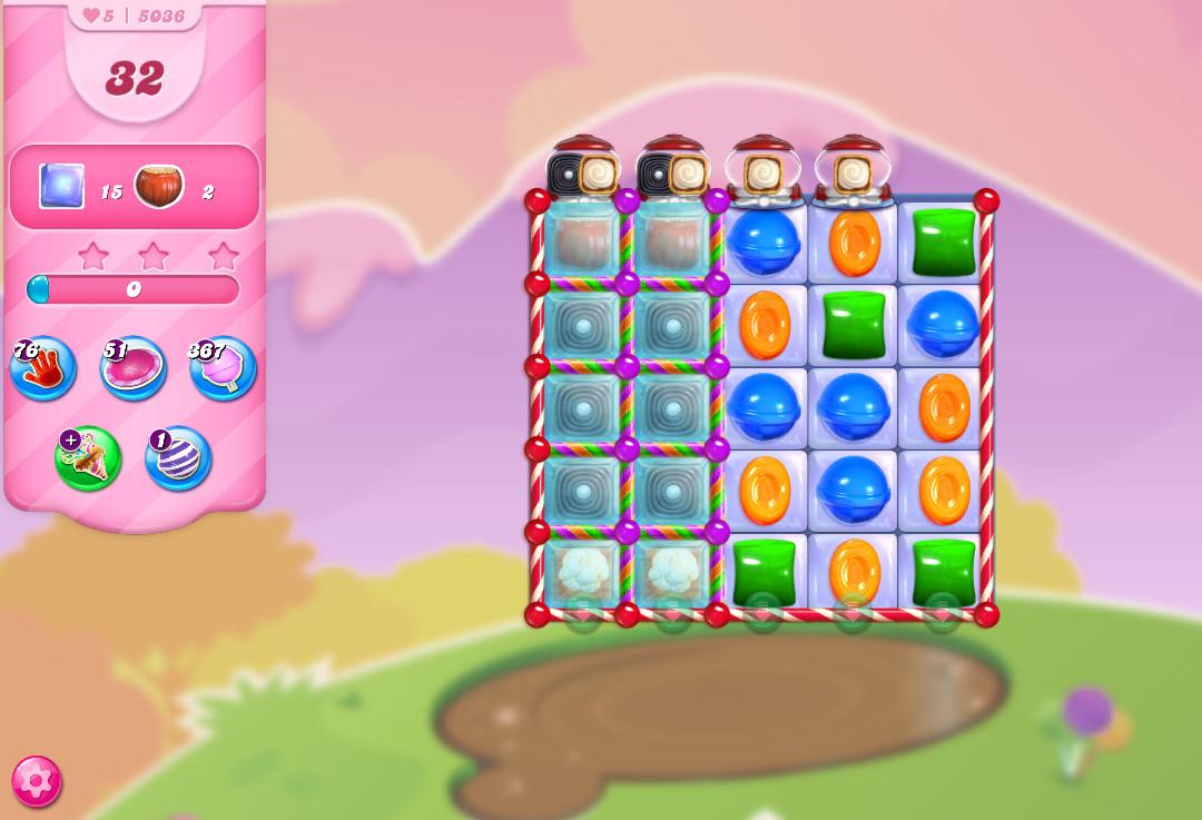 Candy Crush Saga level 5036