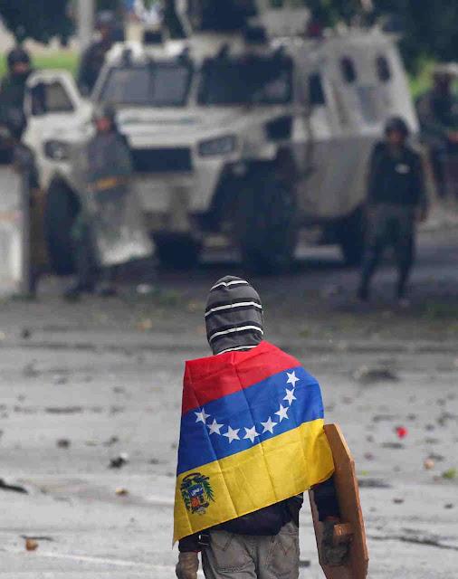 O país miserável diante de uma repressão inclemente