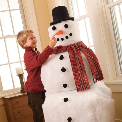 Frost-free the Snowman