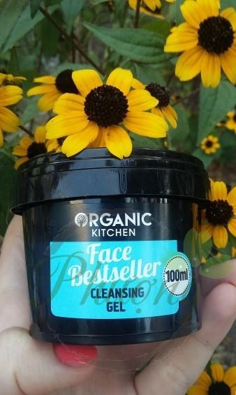 Rửa mặt Organic Kitchen dạng gel dòng FACE BESTSELLER