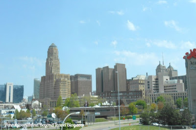 Buffalo City Skyline in New York