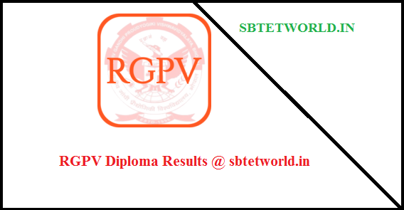 RGPV Diploma Results 2017 1st 2nd 3rd year May/June 2017