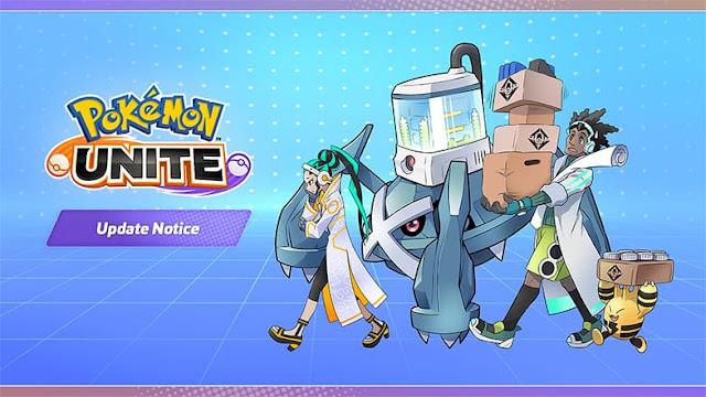 Pokémon Unite: Update 1.2.1.3