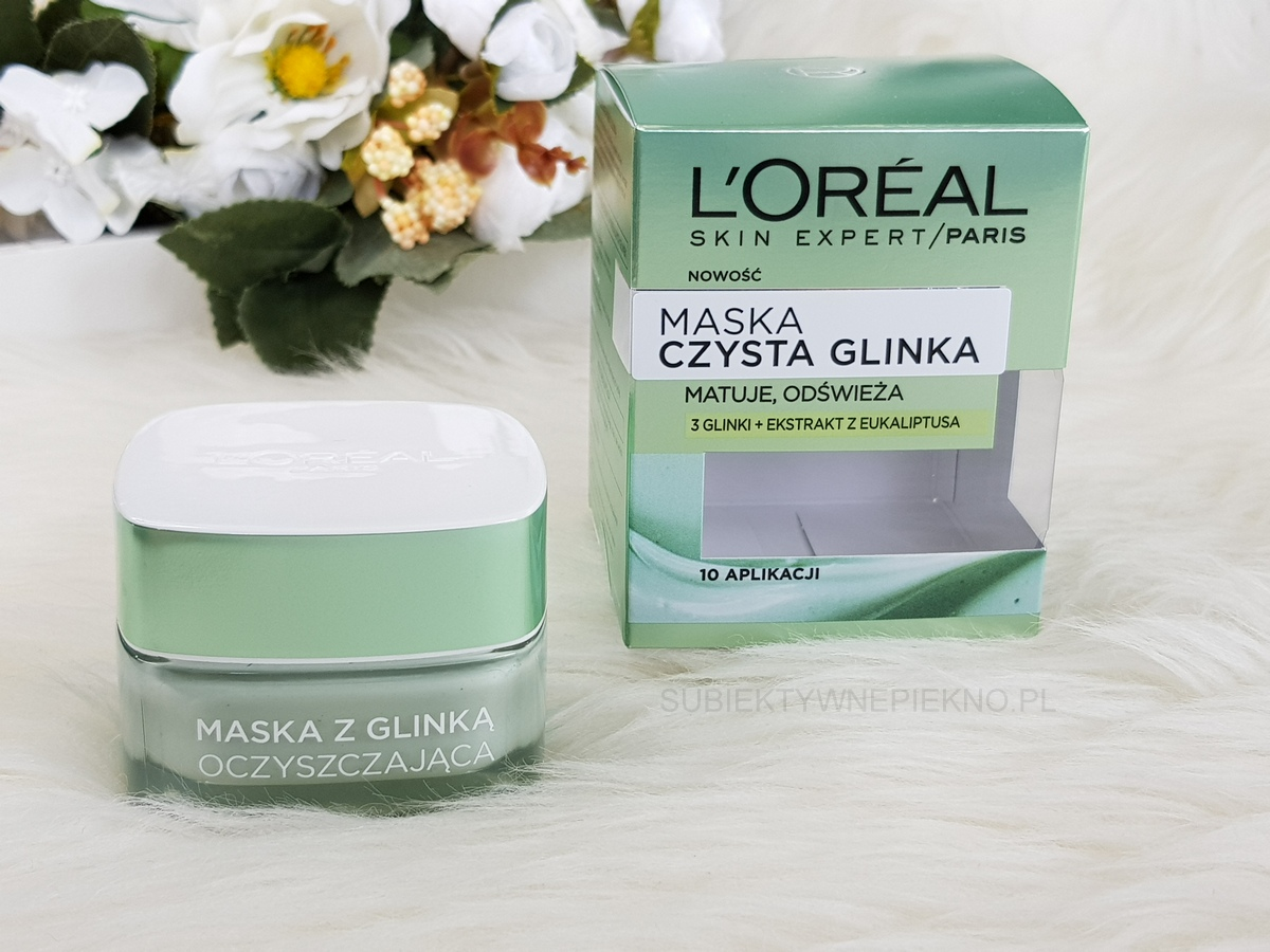 LOreal Czysta Glinka - zielona maska oczyszczająca opinie