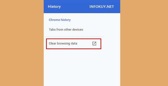 Cara Menghapus Cookie Pada Google Chrome #1